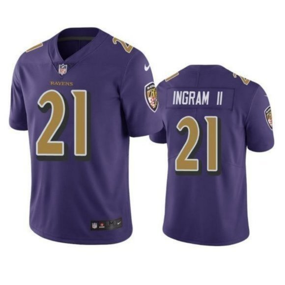 Men Mark Ingram Baltimore Ravens Vapor Jersey